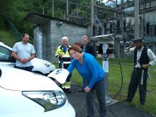 Ladestasjon åpnet i Tafjord