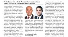"""""""Multichannel Oldschool - Warum Pharmaunternehmen immer noch wie im letzten Jahrtausend arbeiten"""" - Artikelveröffentlichung im PM-Report"""