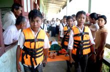 Prioritera barnen i katastrofer