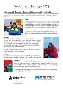 Skolornas polardagar i Orsa Grönklitt 2013