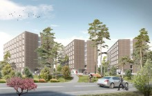 Bygget igång av bostäder för 400 forskare och studenter på Campus Solna