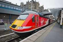 New Virgin liveried train enters service on East Coast