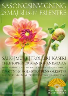 Säsongsinvigning på Drottningholms Slottsteater lördagen den 25 maj