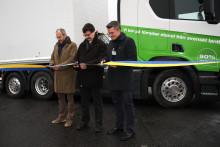 Lantmännen Agroetanol och Scania har invigt världens första ED95-lastbil för tyngre transporter