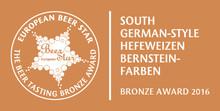 Bronze beim European Beer Star-Award