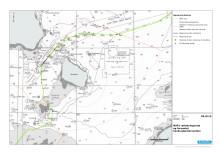 Nord Stream 2 kort alternativ rute - Danmark