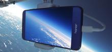 Huawei Honor 8 först i världen att livestreama från 18421,4 meters höjd
