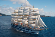 Kom i form under en yogakryssning – med Star Clippers