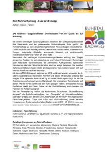 Factsheet RuhrtalRadweg