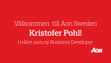 Aon Sweden har rekryterat Kristofer Pohl