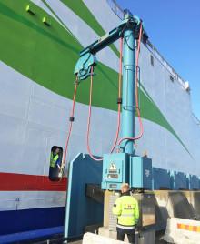 Stena Line und der Hafen Trelleborg weihen Landstromanlage ein