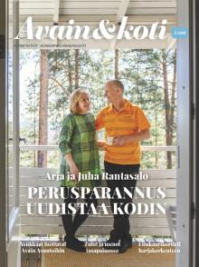 Avain & koti -lehti 2/2019 on ilmestynyt
