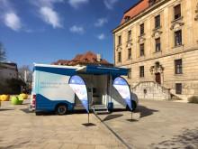 Beratungsmobil der Unabhängigen Patientenberatung kommt am 22. Mai nach Schweinfurt.