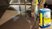 Golvavjämning för tunna skikt – weber.floor 110 fine