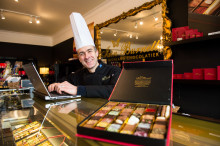 Highland Chocolatier gets a boost with Digital Scotland Superfast Broadband