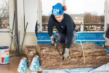 Reportage: Skoglunds väljer Knauf Insulations EcoBatt35: Ekonomin och snickarna styr