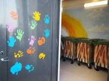 Elever designar vrålsnyggt miljörum