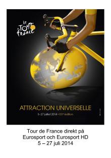 Pressinfo: Tour de France 2014 på Eurosport