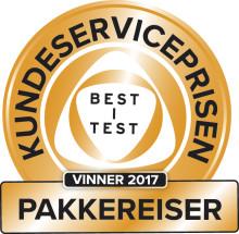 TUIs kundeservice kåret til  «Best i Test»