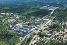 Schneider Electric moderniserar Volvo Cars bilfabrik