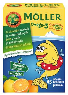 Möller Omega-3 Pikkukalat uudistuvat