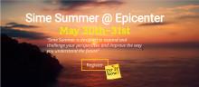 Glöm inte ansöka om pressackreditering. 2 dagar till Sime Summer!
