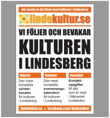 Veckans kulturnyheter från Lindesberg (vecka 34)
