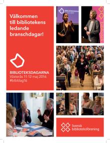 Pressinbjudan: Biblioteksdagarna i Västerås 11-12 maj