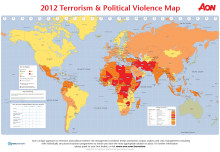 2012 Aon Terrorism & Political Violence Map