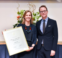 Helena Saxon named the Alumna of the Year 2018