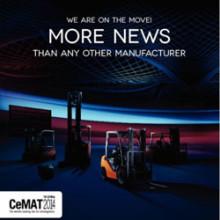 Toyota Material Handling Europe är värd för europeisk pressträff - förhandsvisning inför CeMAT 2014