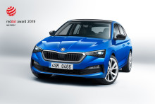 ŠKODA SCALA får international designpris
