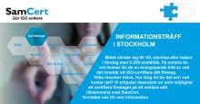 Informationsträff om ISO-certifiering i Stockholm