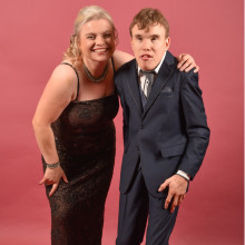 Mum hosts ball to celebrate son's 21st birthday and give back to charities close to her heart