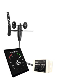 Digital Yacht's WindSense turns an iPad  or tablet into an affordable wireless wind display - See it at METS Hall 1:434