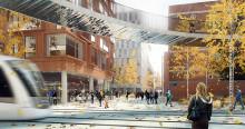 COWI med och designar centrala Lindholmen i Göteborg