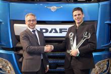 'DAF European Technician of the Year 2018' -kilpailu