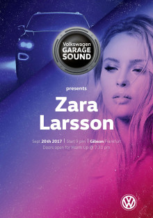 Volkswagen i samarbete med Zara Larsson