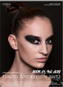 L'ORÉAL PARIS LOOK OF THE DAY // DAVID ANDERSEN AW 12