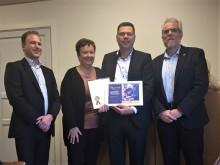 Hagens Fjedre vinder TagFat prisen