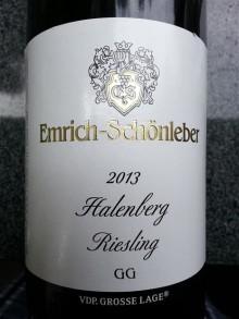 Viner från Emrich Schönleber på Farangs Riesling-onsdag den 17 januari.