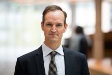 Anders Wiklöf stödjer hjärtforskning vid Uppsala universitet