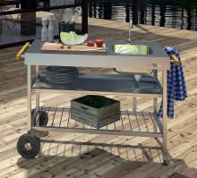 Ut med köket i trädgården – Enkelt, socialt och gott!