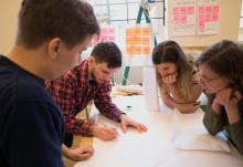 Designstudenter och hälso- och sjukvård skapar klimatsmarta innovationer tillsammans
