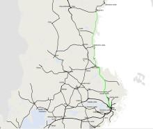 Punktligare tåg på högtrafikerade järnvägssträckor