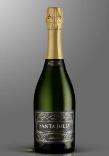 Premiär för Santa Julia Brut Blanc de Blancs – etiskt mousserande vin från Argentina