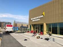 Brand i teknikrum i idrottshallen på Änglandaskolan