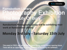 """""""The Beauty of Bury"""" - photography exhibition at Ramsbottom Library"""