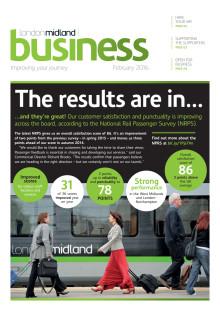 London Midland's February 2016 stakeholder newsletter
