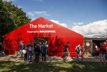 ROCKWOOL använder Roskildefestivalen som innovationslaboratorium